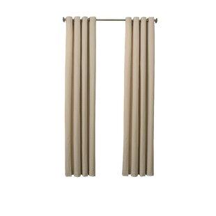 Beauty Rest Malbrouk Chevron Max Blackout Grommet Single Curtain Panel by Beautyrest