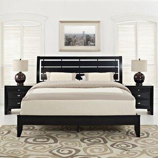Olivia Platform 3 Piece Bedroom Set