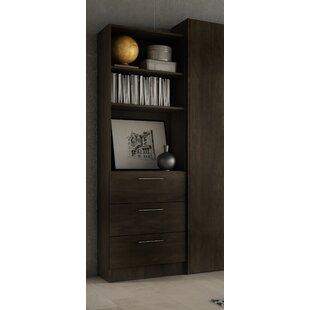 Lower Weston 3 Drawer Standard Bookcase by Wade Logan