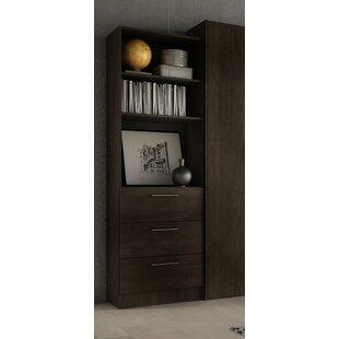 Lower Weston 3 Drawer Standard Bookcase by Wade Logan
