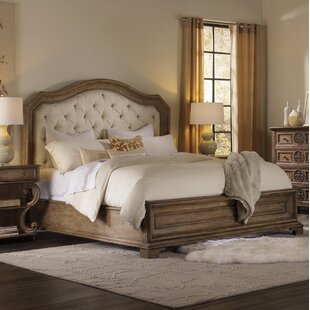 Solana Upholstered Panel Bed
