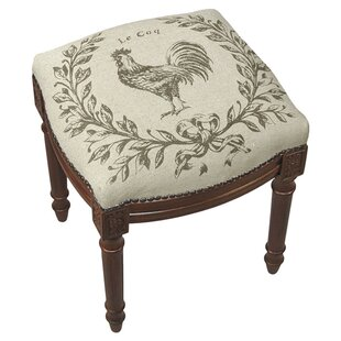 123 Creations Le Coq Accent Stool