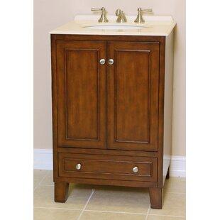 Mickey 24 Single Bathroom Vanity Set by B&I Direct Imports