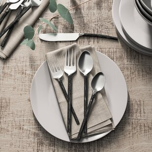 Poteet 20 Piece Flatware Set, Service For 4