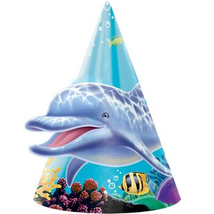 Ocean Party Hat Paper Disposable Party Favor (Set of 24)