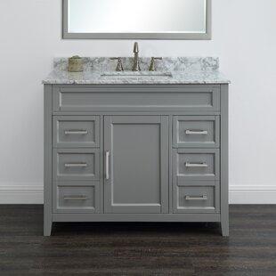Horacia 42 Single Bathroom Vanity Set By Wrought Studio