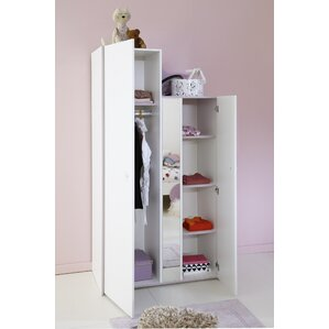 Den Helder 2 Door Armoire by Zoomie Kids