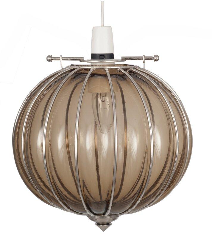pacific lifestyle 24 5 cm lampenschirm aus glas. Black Bedroom Furniture Sets. Home Design Ideas