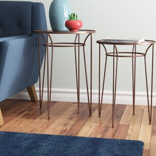 Annalee 2 Piece Nesting Tables by Ivy Bronx #2