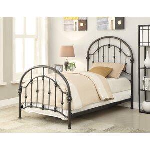 sarber panel bed - Metal Frame Bed