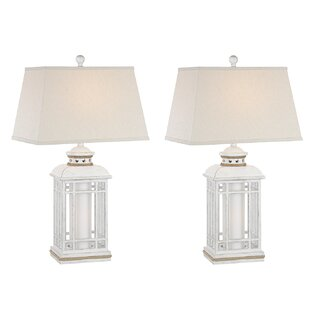 Resendez Coastal Lantern 30 Table Lamp (Set of 2)