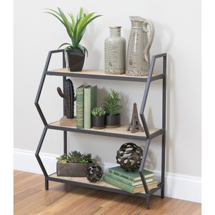 Citlali 3-Shelf Industrial Etagere Bookcase Wrought Studio