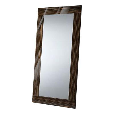 Wade Logan Cleobury Full Length Mirror Finish: Cathedral Ebony