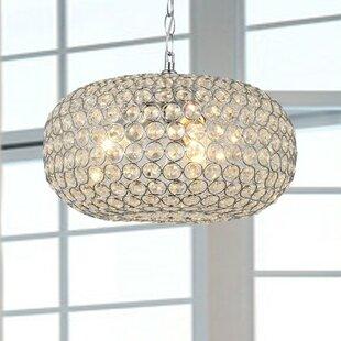 House of Hampton Mckee 3-Light Crystal Chandelier