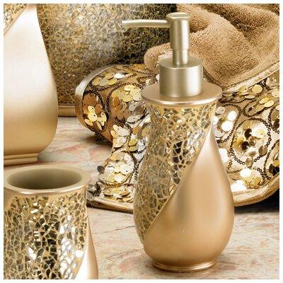 Rivet Champagne Gold Lotion Dispenser