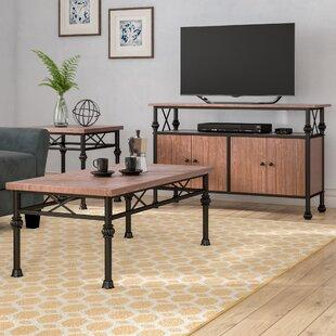 Endo 3 Piece Coffee Table Set