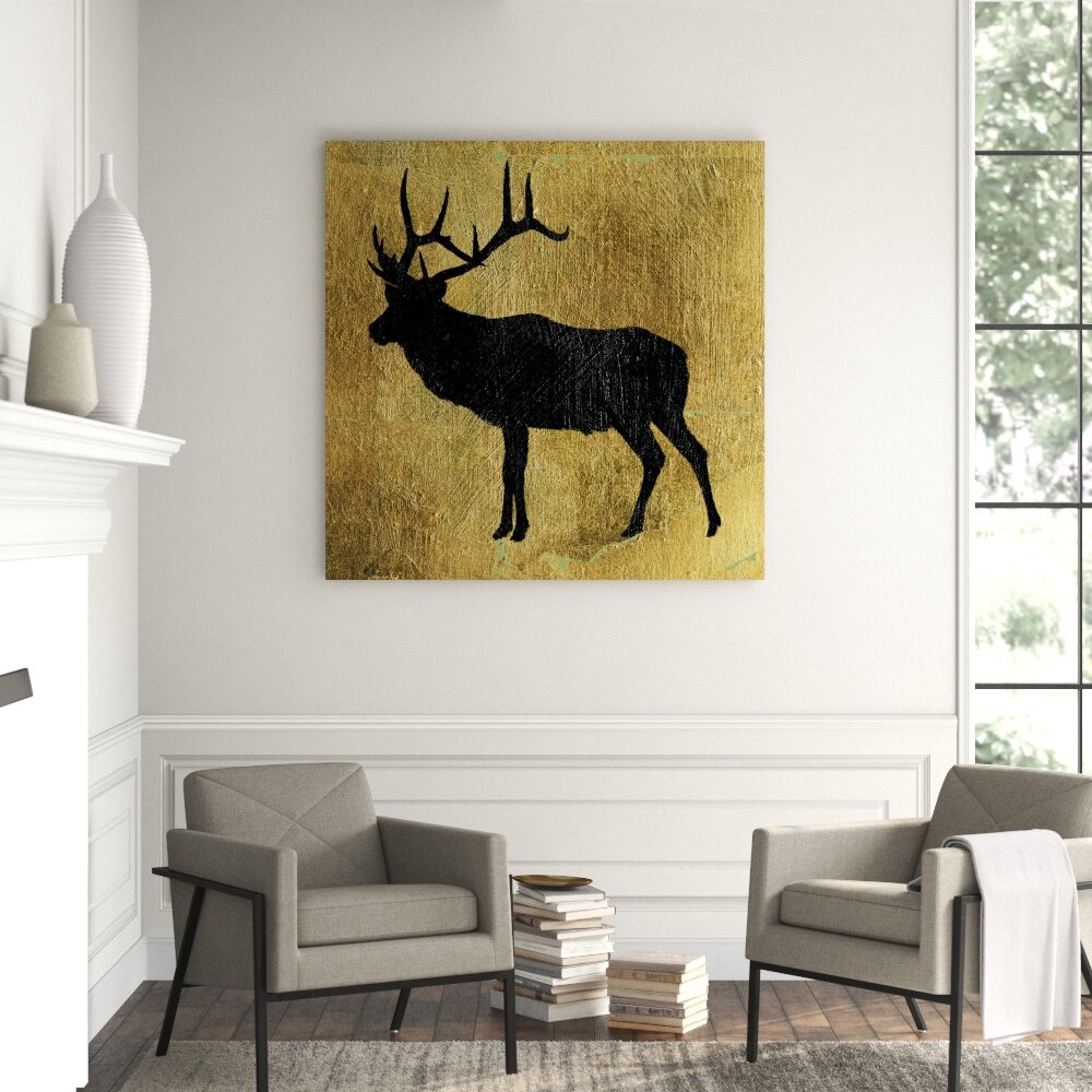 Clicart Golden Lodge Iv By James Wiens Wrapped Canvas Print Perigold