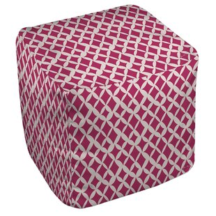 Manual Woodworkers & Weavers Banias Diamond Pouf