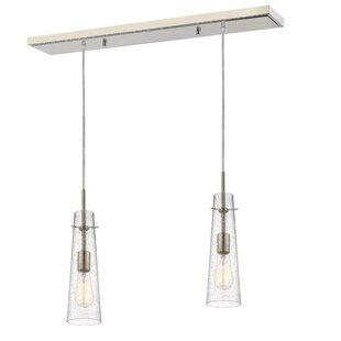 Ivy Bronx Gholson 2-Light Kitchen Island Pendant