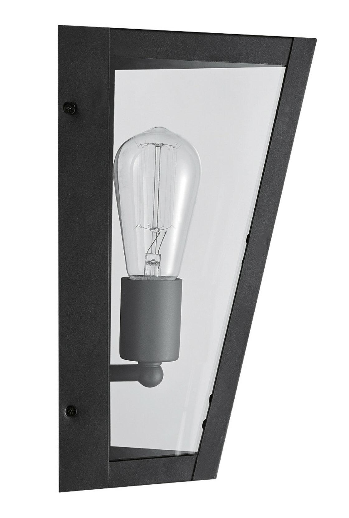 Wrought Studio Maughan Outdoor Wall Lantern Reviews Wayfair Ca