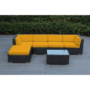 Find Baril 6 Piece Sectional Set with Cushions Good price