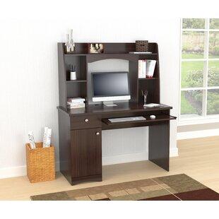 Byron Computer Desk with Hutch by Ebern Designs