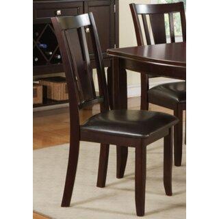 Annie Upholstered Side Chair in Brown (Set of 2) by A&J Homes Studio SKU:EA752184 Buy