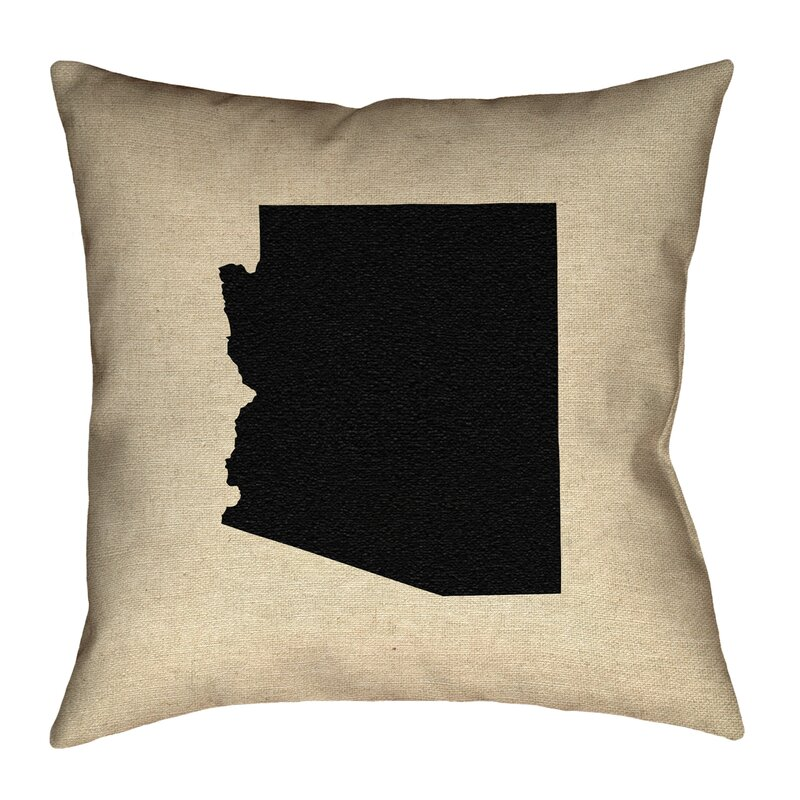 Ivy Bronx Austrinus Square Arizona Canvas In Spun Polyester Double Sided Print Throw Pillow Wayfair