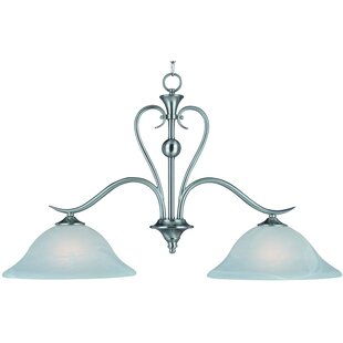 Kitchen Island Lighting Youll Love Wayfair - 2 light island chandelier