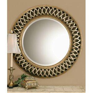 Bambridge Round Plastic Wall Mirror
