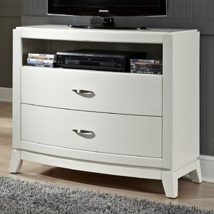 Loveryk 2 Drawer Media Chest