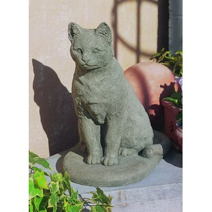 Merveilleux Garden Cat Statue
