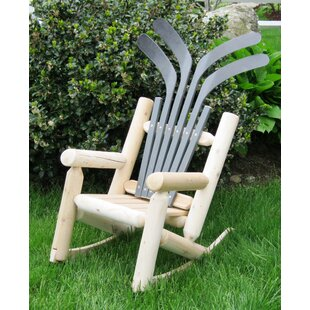 Hockey Stick Children's Solid Wood Adirondack Chair