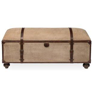 Sarreid Ltd Leather Storage Bench
