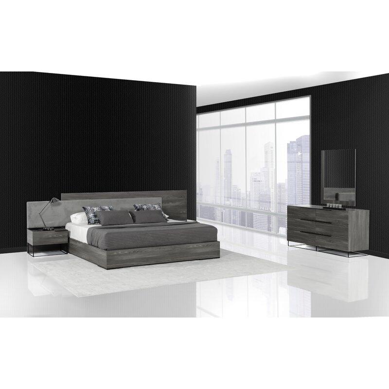 Mercury Row Mraz Platform Bedroom Set & Reviews   Wayfair
