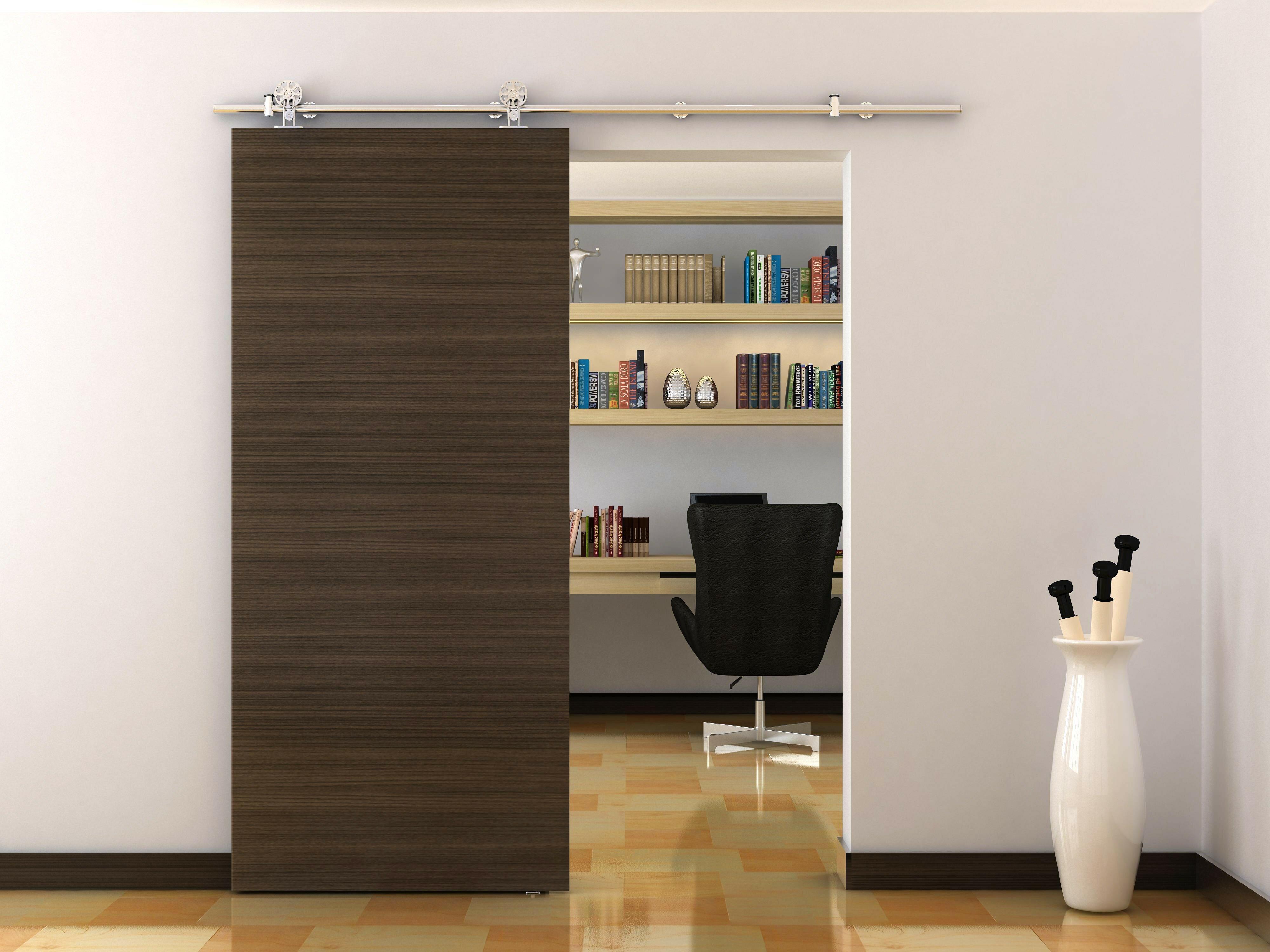 new sliding steel text wood storage stainless barns product hardware modern finish furniture barn satin door