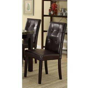 Winston Porter Paredes Upholstered Dining Chair (Set of 2)