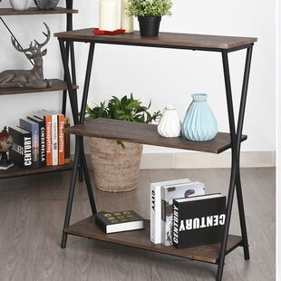 Runyan 3 Tier Etagere Bookcase