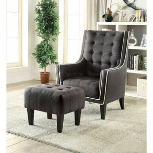 Bentlee Armchair and Ottoman by Darby Home Co