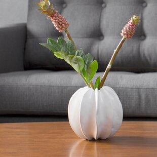 White Sea Star Vase