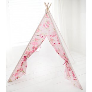 Affordable Sweat Rosebud Play Teepee By Harriet Bee