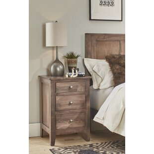 Mccalla 3 Drawer Nightstand by Millwood Pines