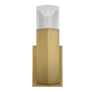Shop For Kenworthy Wall 1-Light LED Armed Sconce By Mercer41