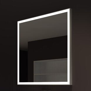 Orren Ellis Kristian Illuminated Bathroom / Vanity Wall Mirror