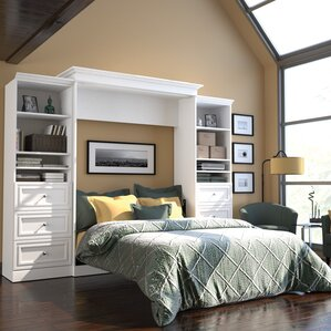 Acevedo Queen Metal Murphy Bed by Latitude Run