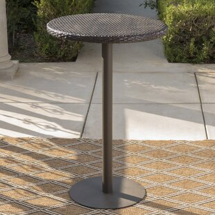 bar height patio tables you ll love wayfair rh wayfair com outdoor furniture bar sets Outdoor Patio Buffet Table