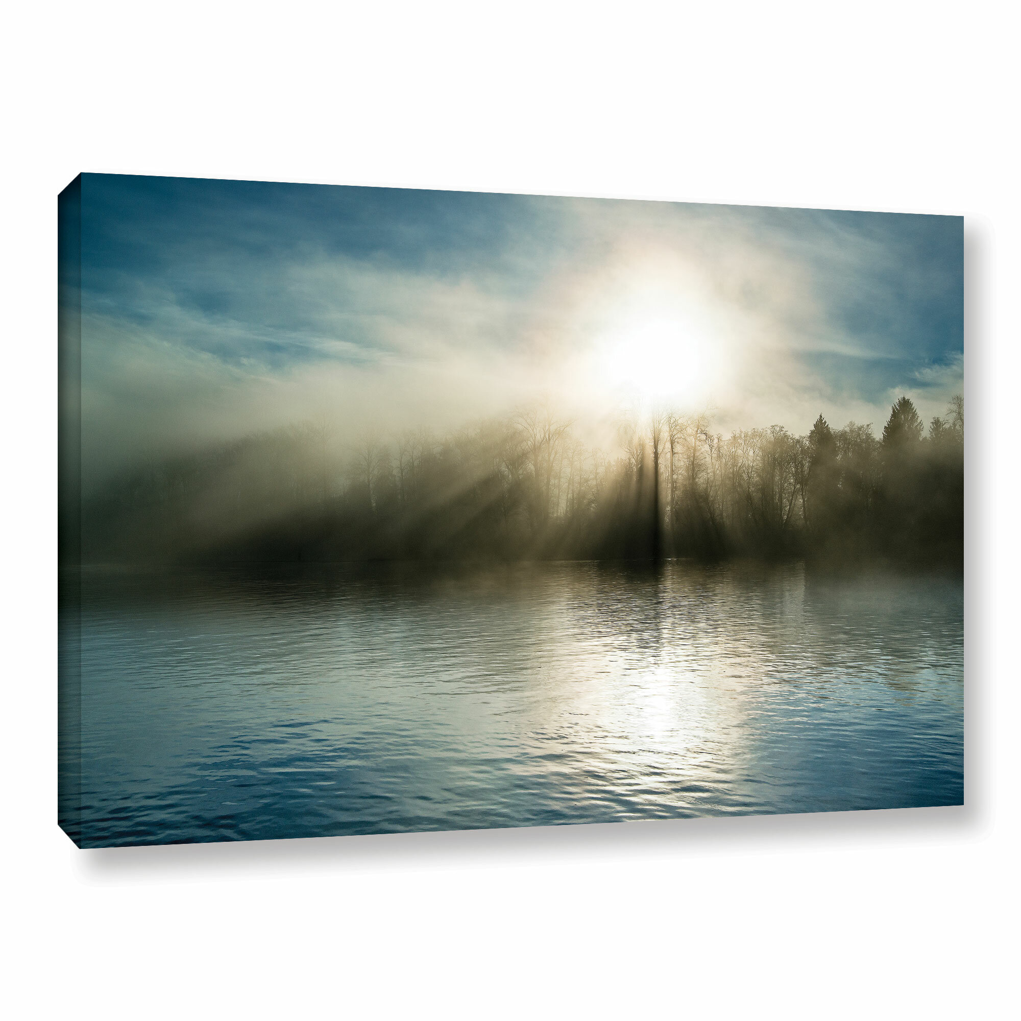 Red Barrel Studio Rising Above The Water Photographic Print On Wrapped Canvas Reviews Wayfair