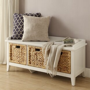 ACME Furniture Flavius Wood Storage Bench