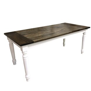 Potapchuk Solid Wood Dining Table August Grove