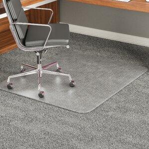 High Pile Carpet Beveled Edge Chair Mat